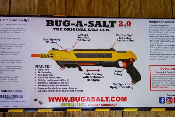 Bug-A-Salt Verpackung