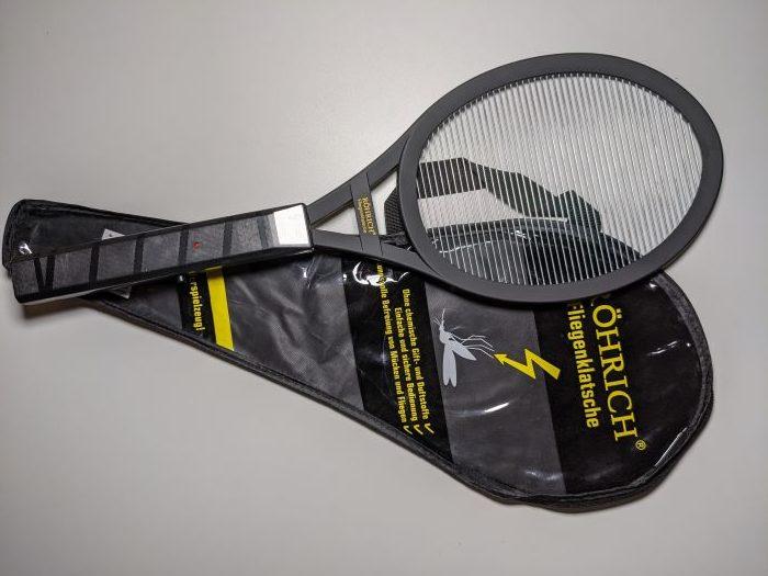 Elektrische Fliegenklatsche TascheTasche
