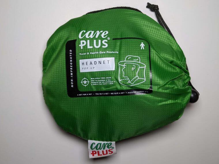 Care Plus PopUp Kopfnetz mit Hut